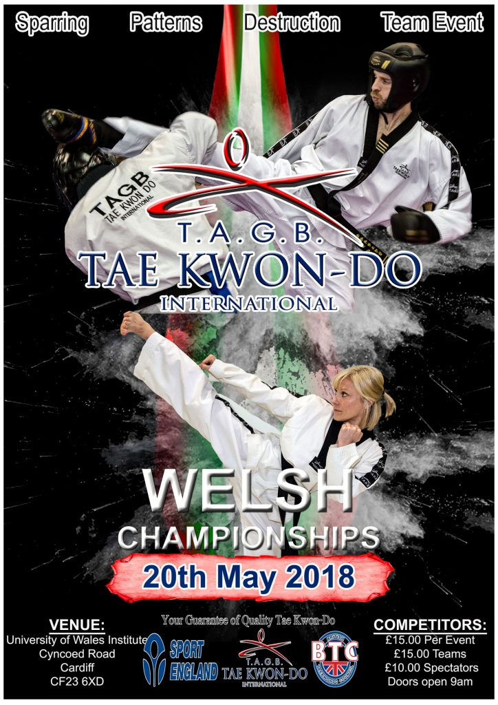 Welsh Championships 2018 Poster